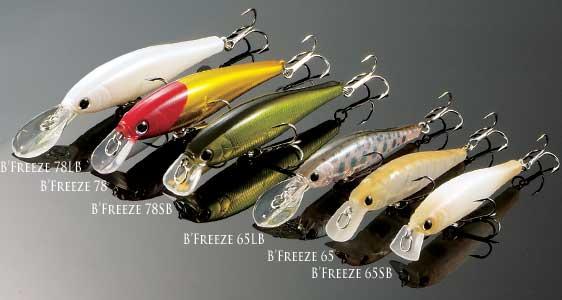 Lucky craft japan item list b 39 freeze sb short bill for Lucky craft pointer 65
