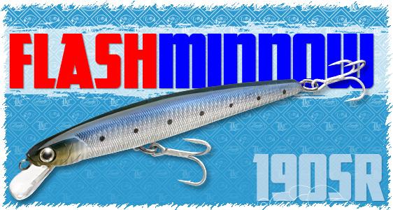 Lucky craft salt water lure item list osg flashminnow for Lucky craft saltwater lures