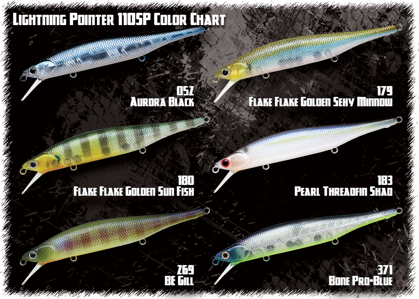 180 Flake Flake Golden Sun Fish LUCKY CRAFT LC 1.5
