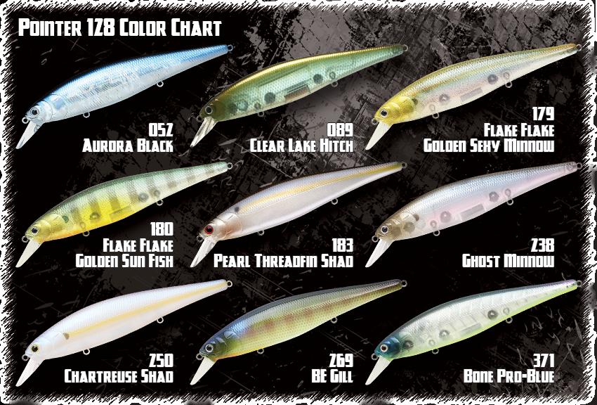 LUCKY CRAFT Gunfish 95-269BE Gill