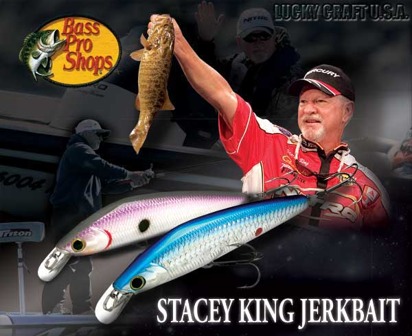 CUSTOM PAINTED  LUCKYCRAFT STYLE SUSPENDING JERK BAIT FISHING LURE  AWESOME SHAD